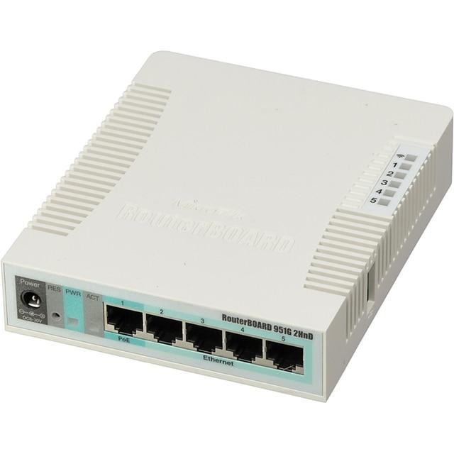 Роутер MikroTik RB951G-2HND 10/100/1000BASE-TX белый
