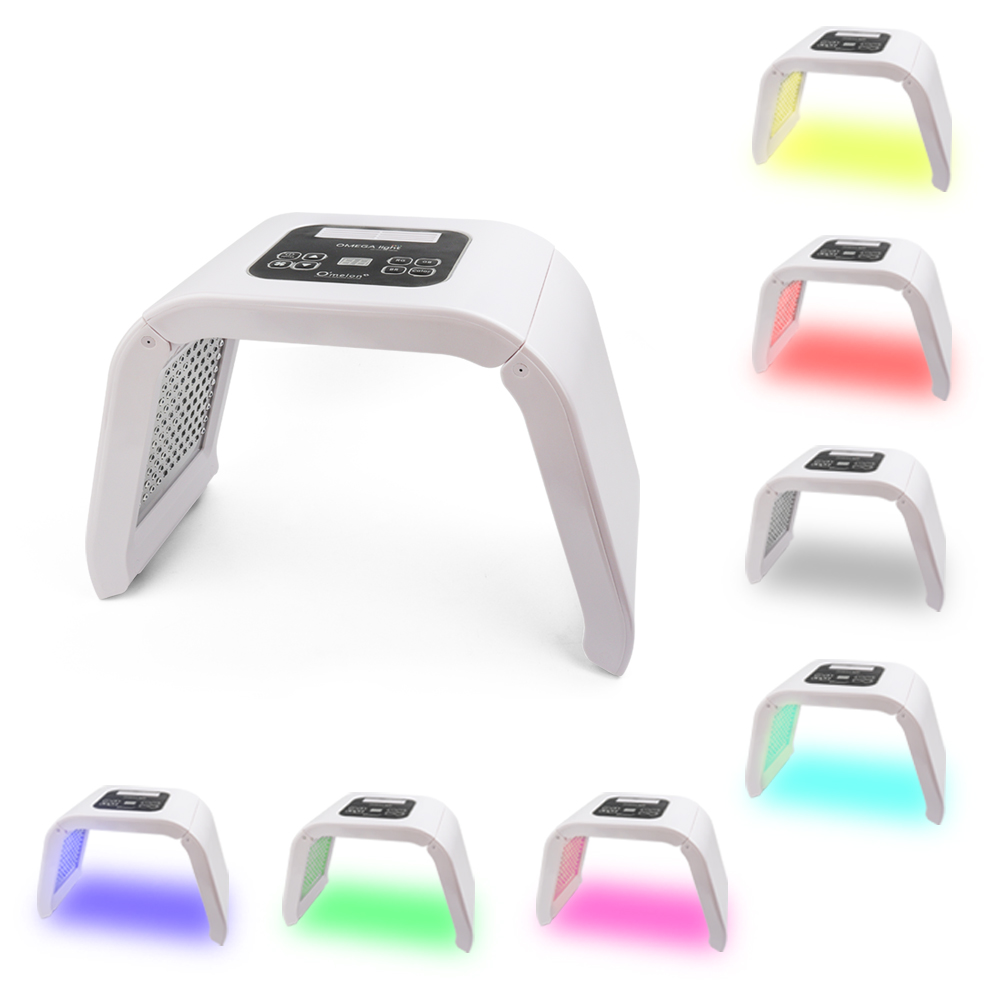 Professional Photon PDT Led Facial Mask Machine 7 Colors Acne Treatment Face Whitening Skin Rejuvenation Light Therapy Skin Care