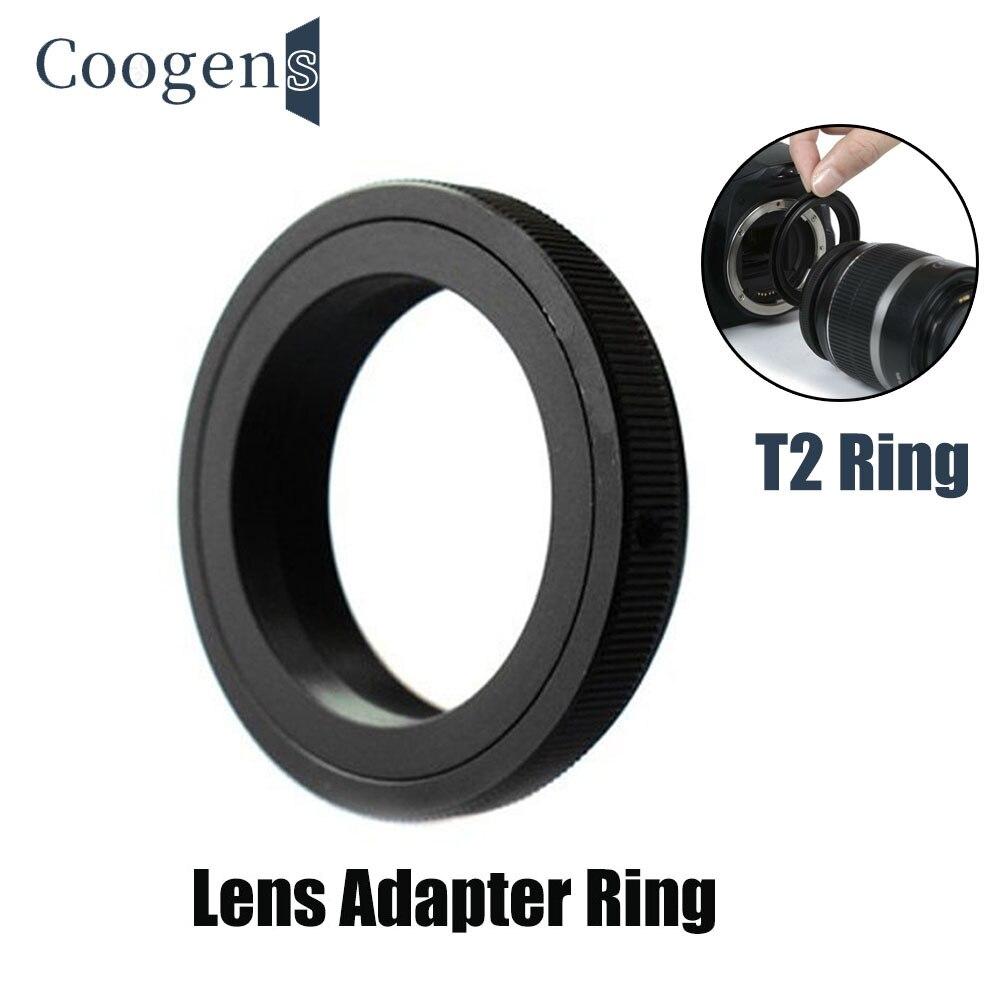 T2 T Mount Lens Adapter Ring For Canon EOS AI PK AF M42 Nikon AF Pentax Olympus Sony Minolta Alpha D800 D5100 D5200 D7000 DSLR