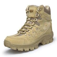 Nam Chuyên Nghiệp Chiến Thuật Đi Bộ Đường Dài Giày Chống Thấm Thoáng Khí Đồng Bằng Giày Tác Chiến Quân Sự Giày Cắm Trại Núi Giày Thể Thao Sneaker