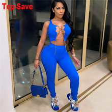 Outfits Women Pants-Set Active-Wear Sporty Workout Casual Sleeveless 2piece Bodycon And