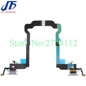 Image 3 - 10 قطعة شاحن USB موصل هيكلي آيفون X 7 8 Plus 7P 8 P 7G 8G شحن ميناء سماعة الصوت جاك فليكس كابل Relacement الجزء