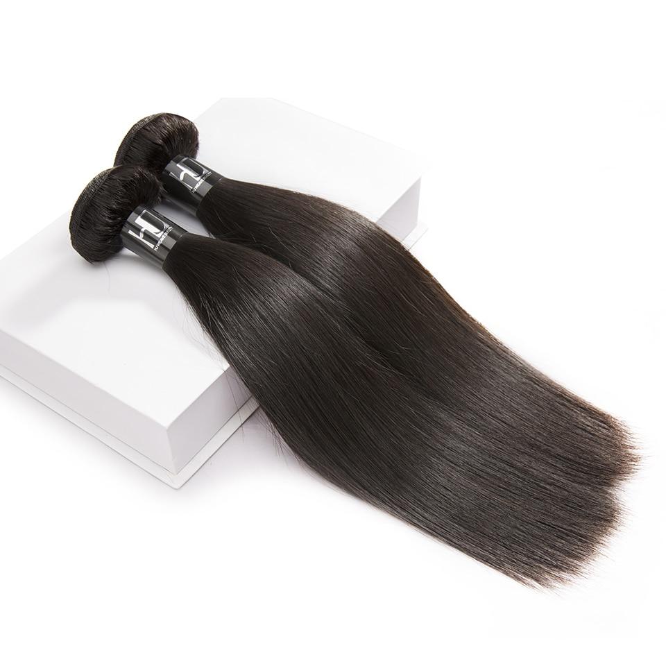 H7b0117ccf95443b1885b95c0e1554e78T HJ Weave Beauty Straight Human Hair Bundles With Closure 30inch Brazilian Hair Weave Bundles 7A Virgin Hair Bundles With Frontal