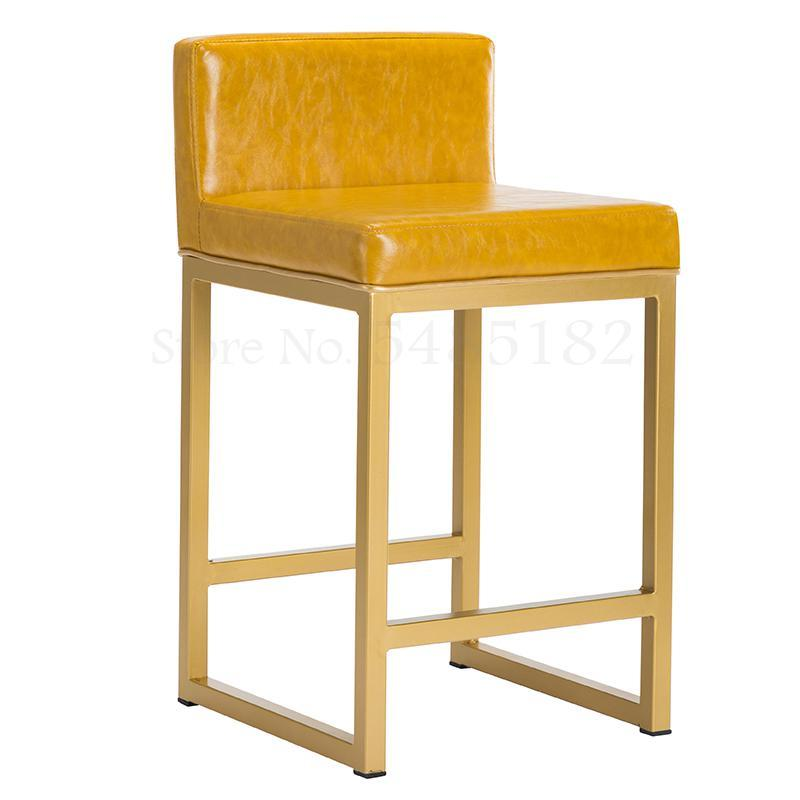 High Chair Back Clothing Store Glasses Shop Jewelry  Dedicated Stool Counter Gold   And Silver