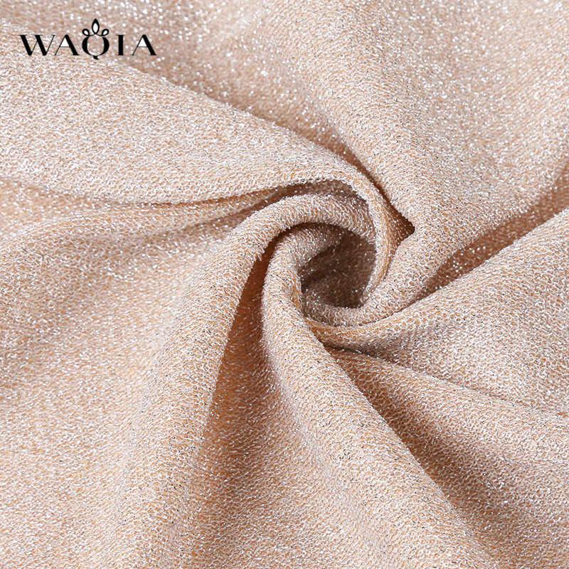 2019 Sexy V-cou Brillant Robe Moulante Femmes décontracté À Manches Longues Mince Club Robe De Soirée Paillettes Femme Automne Hiver Mini Robes