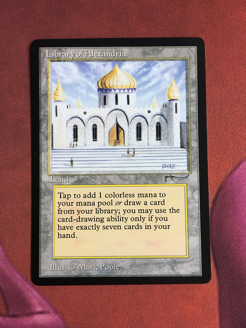 Library Of Alexandria Arabian Nights Magician ProxyKing 8.0 VIP The Proxy Cards To Gathering Every Single Mg Card.