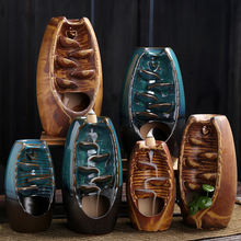 Креативные украшения керамическая поделка с изображением гор