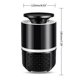 Elektryczna Zapper lampa przeciw komarom 5V USB muchy robaki Pest Trap zabójca LED lampa 4XFB