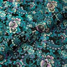 Brokaat Zijde Stof Bloem Doek Nylon Stoffen Voor Naaien Materiaal Voor Kleding Textiel
