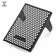 Motorcycle Accessories Aluminum Radiator Grille Guard Cover For Ducati Monster 1100 S Oil Cooler Guard 2009 2010 2011 2012-2015 aluminum radiator guard cover grille for suzuki gsx r1000 gsxr 1000 2009 2010 2011 2012 2013 2014 2015 2016 oil cooler protector