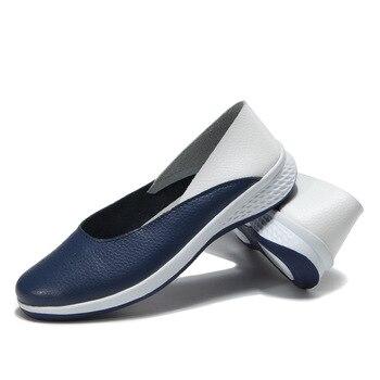 Women's Cutout Nursing Flat-Shoes