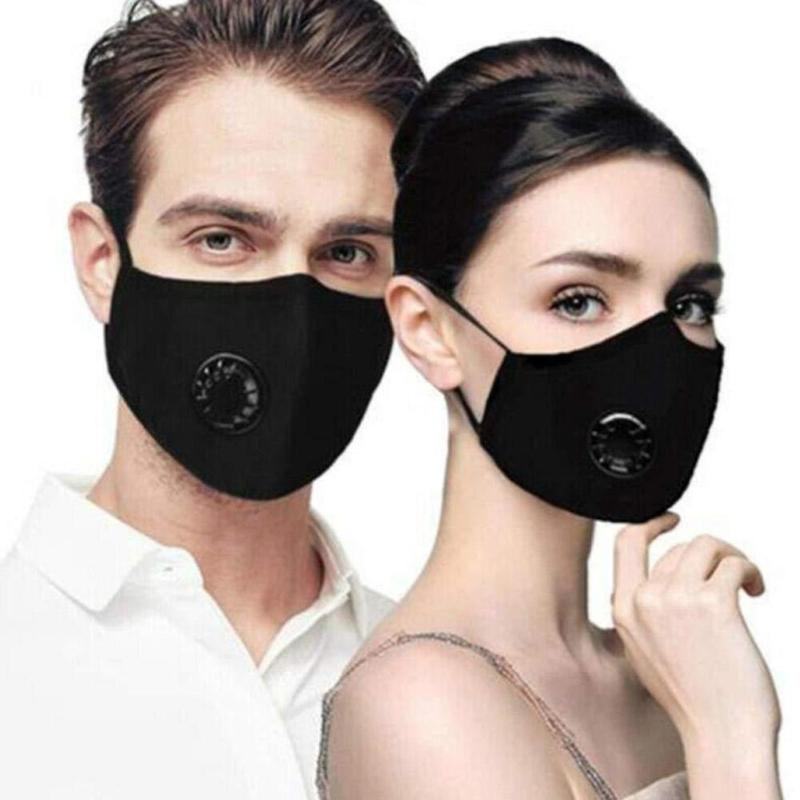 Anti Pollution PM2.5 Mouth Mask Respirator Washable Reusable Masks Cotton Unisex Mouth Muffle Dust Mask