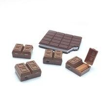 30 pz/lotto Della Novità chocolate temperamatite con gomma, cioccolato temperamatite per la matita come i bambini della scuola stazionario