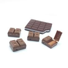 30 יח\חבילה חידוש שוקולד עיפרון מחדד עם מחק, מחדד שוקולד עבור עיפרון כמו ילדים בית ספר נייח