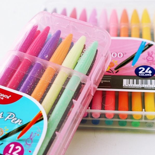 MONAMI Pen 3000 Color Gel Gel Set DIY Cartoon Drawing Barevný nápis na vodě Marker Inkoustové pero Graffiti Sketch Art Supplies