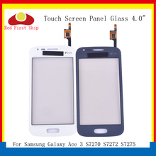 10Pcs/lot For Samsung Galaxy Ace 3 S7270 S7272 S7275 GT-S7272 Touch Screen Digitizer Panel Sensor S 7270 7272 LCD Glass стоимость