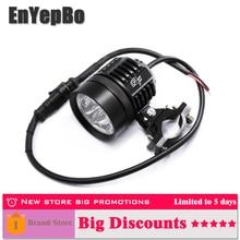 EnYepBo Universal LED Headlight Motorcycle Motorbike 8000 LM  Moto Spotlight Waterproof Fog Spot Motos Bulb Super bright