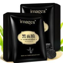 Bioaqua Skin Care Face Moisture Black Facial Mask Bamboo Charcoal Cleansing and Moisturizing anti black head