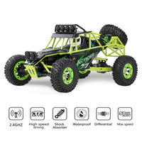 WLtoys 12428 1/12 4WD 2.4G 50km/h Electric Brushed Crawler RC Buggy Off road Climbing Car Remote Control Racing Car Toy