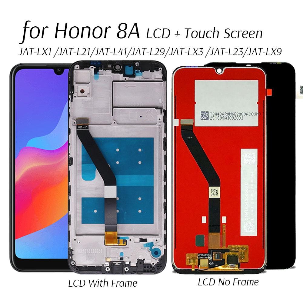 Дисплей для Honor 8A JAT-L29/LX1/LX3 ЖК-дисплей Дисплей сенсорный Экран Замена для Honor 8 Pro/Prime JAT-L41 ЖК-дисплей запасные части для экрана