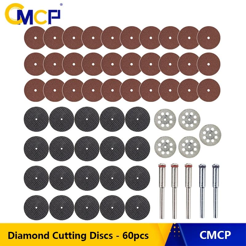 60pcs Diamond Cutting Wheels Discs for Dremel Rotary Tool Accessories Set