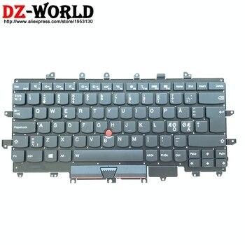 NDC Nordic Danish Norway Sweden Backlit Keyboard for Lenovo Thinkpad X1 Carbon 4th Gen 4 20FB 20FC Teclado SN20K10555 00UR699