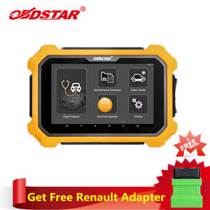 OBDSTAR Programming X300 Smart-Key Dp-Plus PAD2 Renault Free-Adapter Get for Package