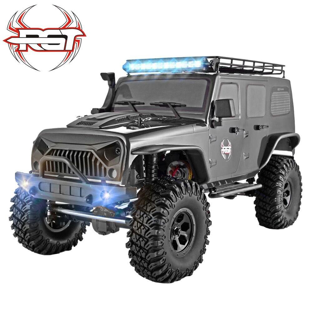 Rgt Rc Crawler 1:10 Bilancia 4wd Rc Auto Off Road Camion Rc Roccia Cruiser EX86100 Hobby Crawler Rtr 4X4 Impermeabile Giocattoli di Rc