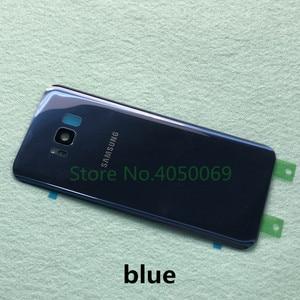 Image 3 - Samsung Lưng Pin Dành Cho Samsung Galaxy Samsung Galaxy S8 G950 SM G950F S8 Plus S8 + G955 SM G955F Lưng Kính Cường Lực Mặt Sau Ốp Lưng + Dụng Cụ
