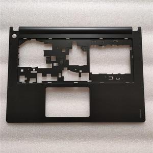 Image 1 - Mới Originalr Laptop Lenovo Ideapad S400 S405 S410 S415 Bàn Phím Ốp Viền Palmrest Bao Trên Palmrest Ốp Lưng AP0SB000100 Đen