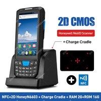 Handheld Pos Terminal Android 8.1 PDA 1D 2D QR Honeywell Barcode Scanner 4G NFC Bar codes Reader Portable Data collector PDA