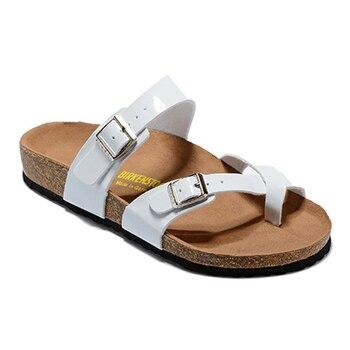 BIRKENSTOCK Women Mayari Slippers Flip toe Shoes Sandal Classic Men Slippers Anti-slip Durable Shoes new birkenstock salina women flip slippers anti slip birkenstock 850 flip flop beach slippers man sandals