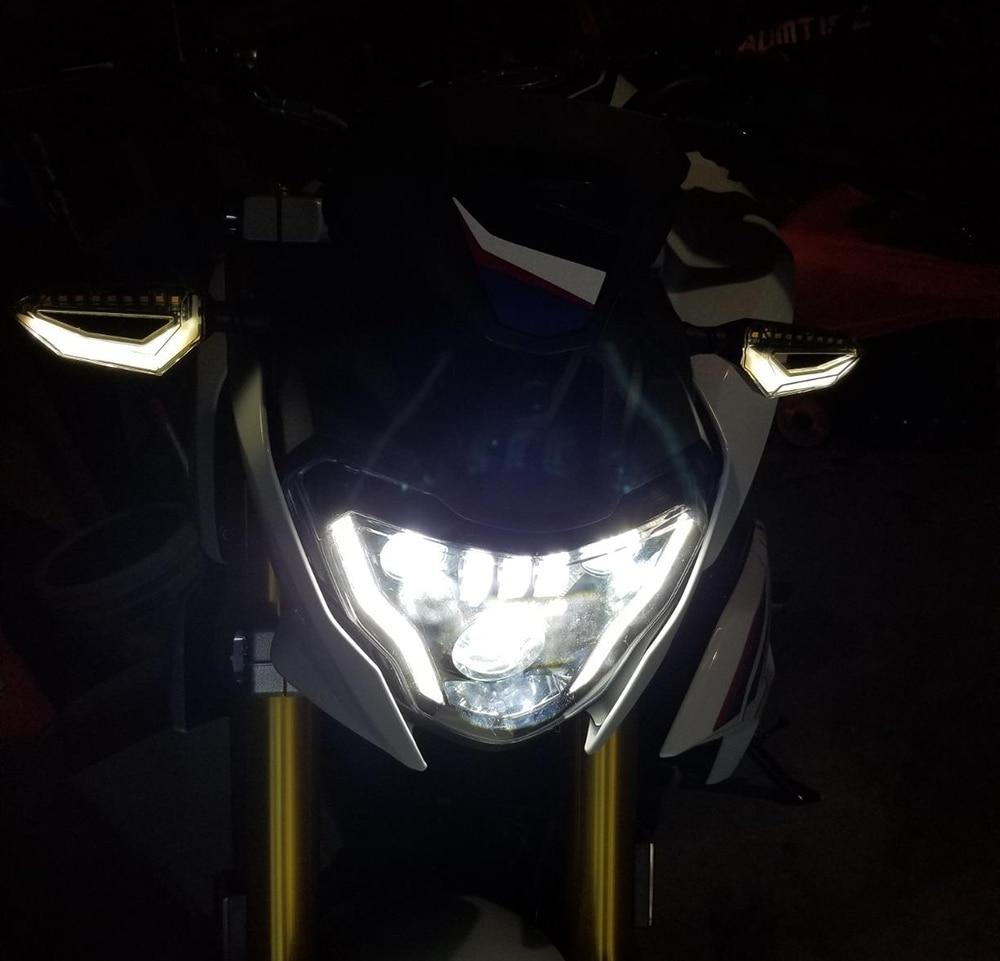 Di accessori auto G310GS G310R G 310 GS R 310GS di nuova generazione a LED Fari Moto Lights con assoluta occhi Devil Kit di montaggio Colore : Headlight