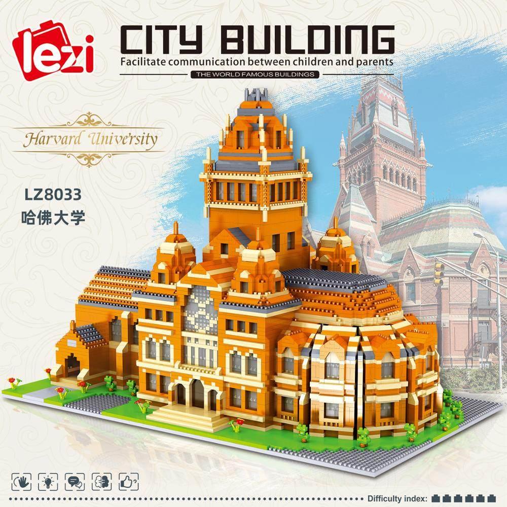 ZRK Architecture Thailand Bangkok Grand Palace Mini Diamond Blocks Building Toy