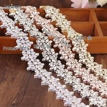 Accessories TOPQUEEN Bead-Belt Wedding-Dress Rhinestones Diamon Rose S269 Milk Multi-Color