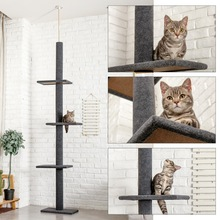 Furniture Tree-Top Climbing-Frame Cat-Tower Jumping Tianli-Scratch Solid-Wood Luxury