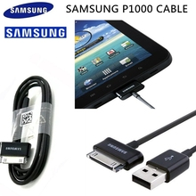 цена на Original Samsung Tablet Cable 30 pin for Galaxy P1000 Tab 10.1 8.9 P1010 P7300 N8000 P3100 N7500 1M Sync Data transmit USB Cable