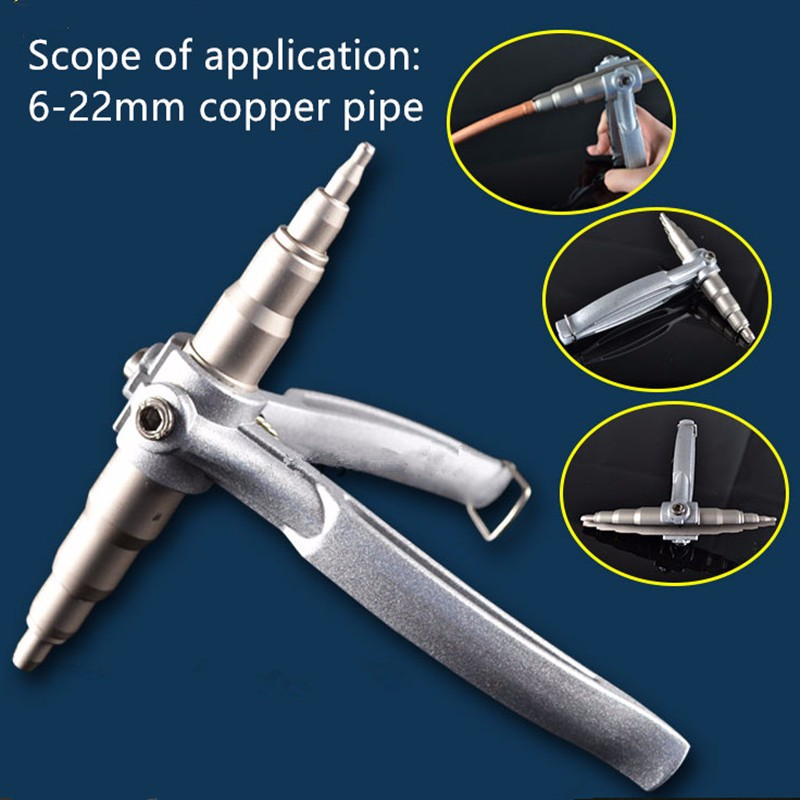 Hot Refrigeration Copper Pipe Tube Expanders Manual Tube Expander Air Conditioner Install Repair Hand Expanding Tool Powers Tool