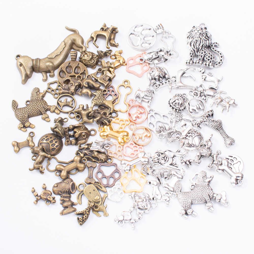 ホット販売地上動物混合ペンダントブレスレットネックレス手作りジュエリー作成卸売diyアクセサリー