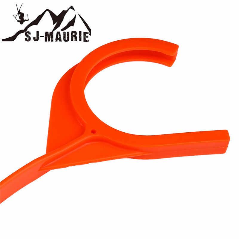 SJ-MAURIE Plastic Handleiding Klei Doel Thrower Jacht Schieten Accessoires Hand Disc Skeet Val Duif Schieten Hunting Gear