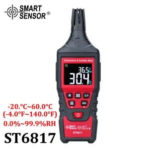 Image 1 - Digitale Temperatuur vochtigheidsmeter Hygrometer Hoge Nauwkeurigheid Thuis Indoor Outdoor Thermometer Gauge Pyrometers Tester  20 60 °C