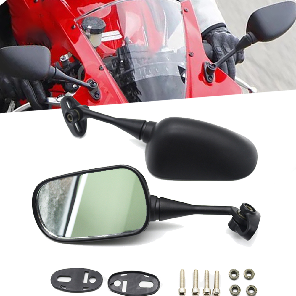 Motorcycle Rearview Rear View Side Mirrors For Honda CBR 600 F4 F4I 1999-2006