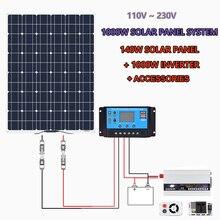 140w 150 Watt 12 Volt Solar Panel für Off-Grid 1000W Große Solar System Haus Batterie Lade boot Caravan RV Solar Arrays