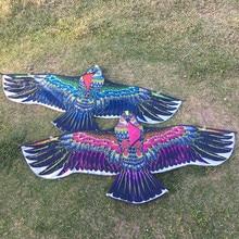 Новинка 1,3 м орел кайт с кайтом линия птица воздушный змей Спорт на открытом воздухе летающая игрушка детский подарок Забавный животный Летающий змей