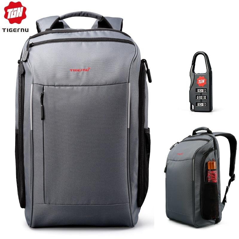 Tigernu Brand 15.6 Inch Laptop Backpack Mochila Women Men Waterproof Backpacks Bags Casual Business Travel Backpack School Bags
