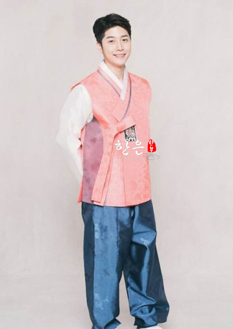 South Korea Imported Hanbok Fabric / Korean Hanbok / Men's Hanbok / Wedding Hanbok
