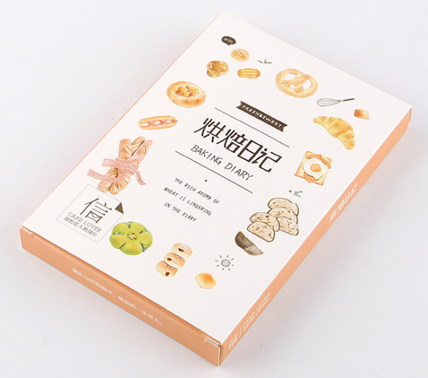 A62- Bake Time Paper Postcard(1pack=30pieces)