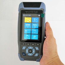 Мини OTDR FTTH волоконно-оптический тестер многофункциональный с оптическим измерителем мощности OPM VFL светильник источник