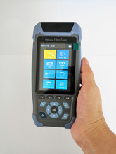 Mini OTDR Reflectometre FTTH Fiber Optic Tester Multifunction with Optical Power Meter OPM VFL Light Source