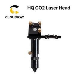 E Serie: co2 Laser Laser Hoofd voor Lens D20mm FL50.8 & 63.5 & 101.6 & 127mm Spiegel 25mm voor Laser graveren Snijmachine